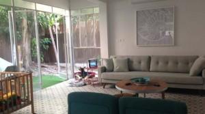 Israel's Garden Apartment